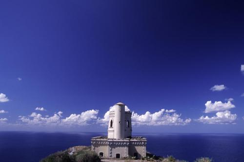 Eolie Islands, Sicily, Italy: Salina - a dismissed light house