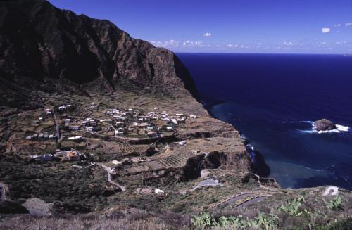 Eolie Islands, Sicily, Italy: Salina - the village of Pollara