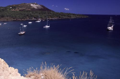 Eolie Island, Sicily, Italy: Vulcano - blue waters